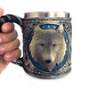 Decorative Cabin Timber Wolf Mug - 30 Day Money Back Guarantee!