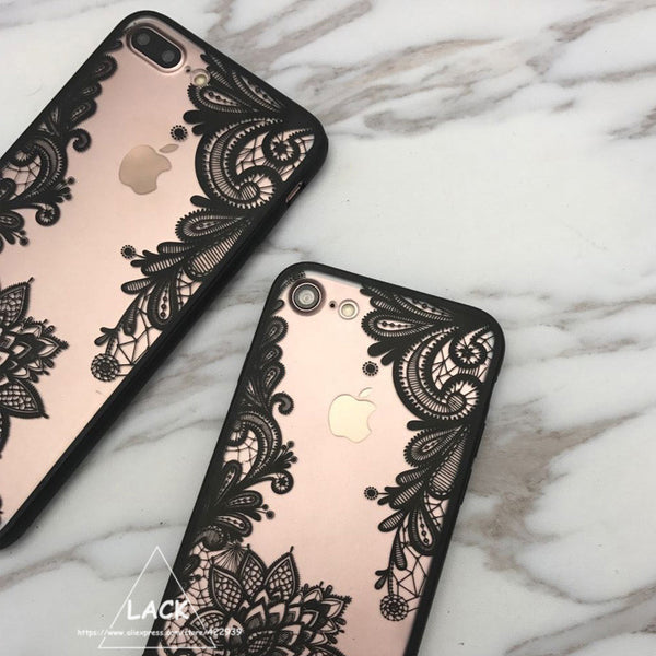 Floral Henna Cover iPhone Case