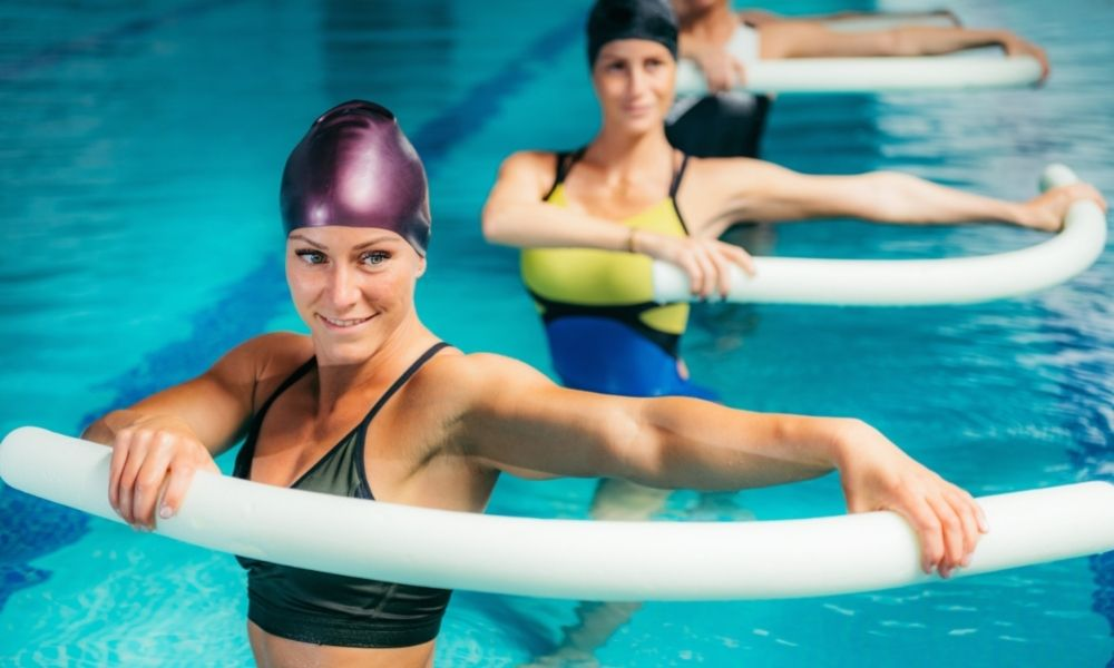 Simple and Fun Water Workouts With Noodles