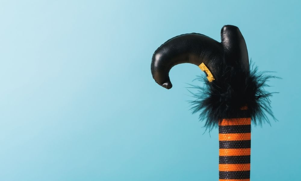 Spooky Season Is Here! Spooky Decorations Using Pool Noodles