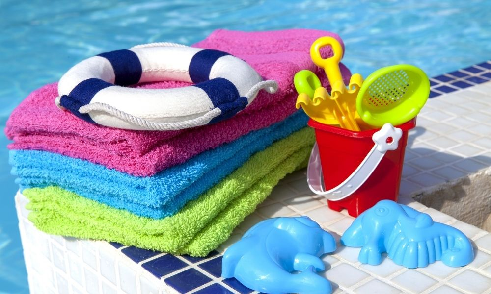 Summer Cleaning Tips for Pool Toys