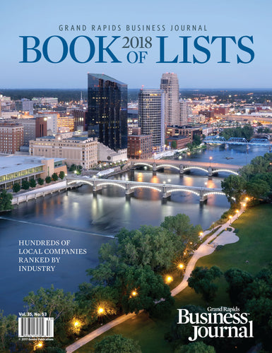 GRBJ Book of Lists 2018