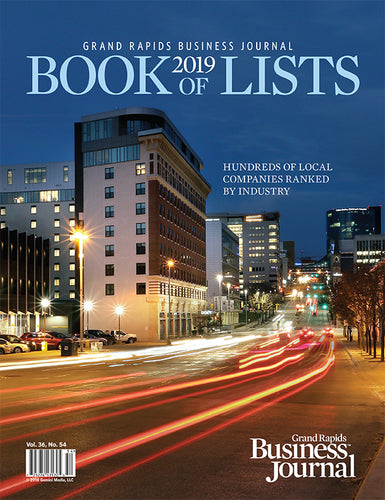GRBJ Book of Lists 2019