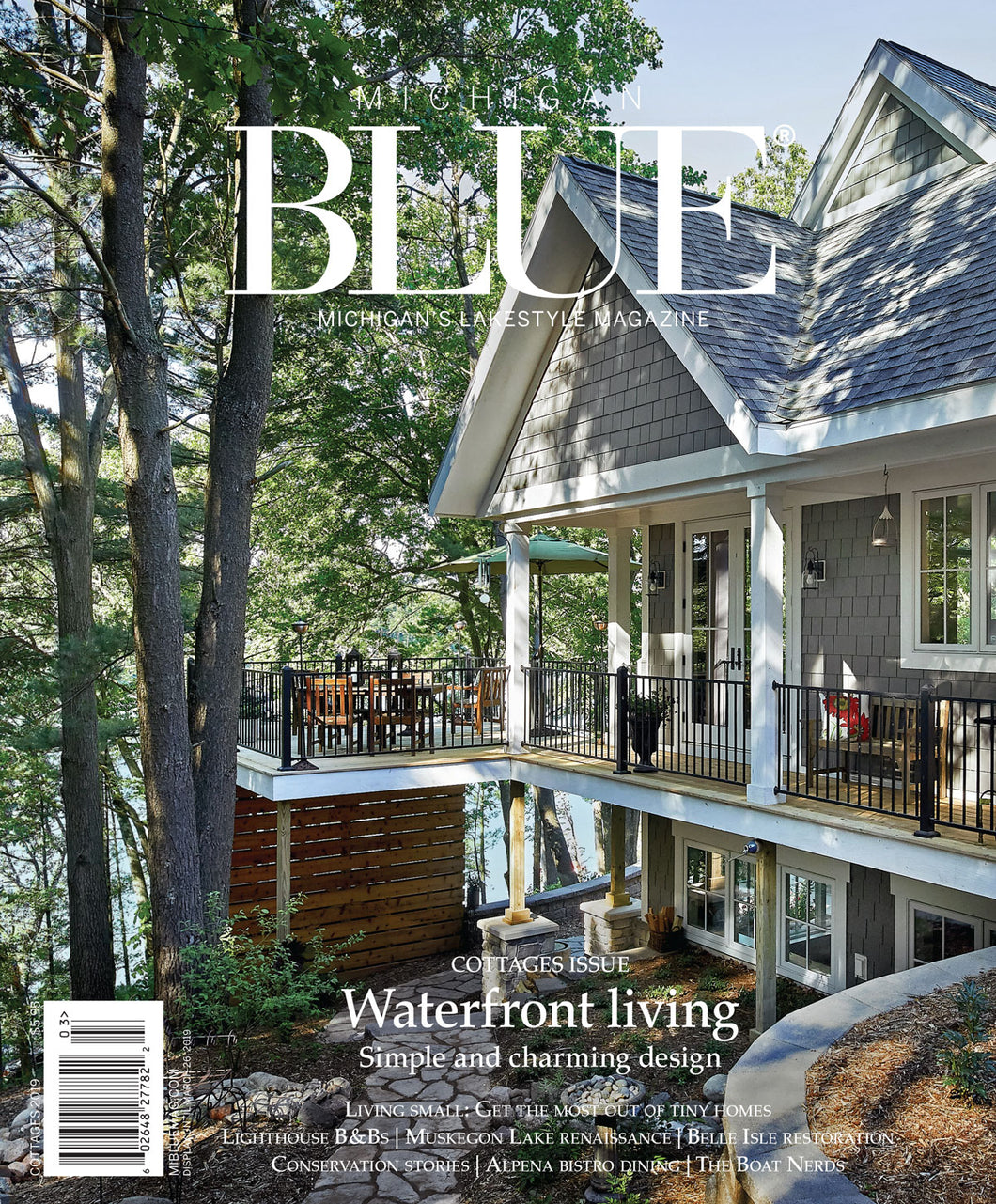 Michigan BLUE Magazine, Cottages 2019 issue