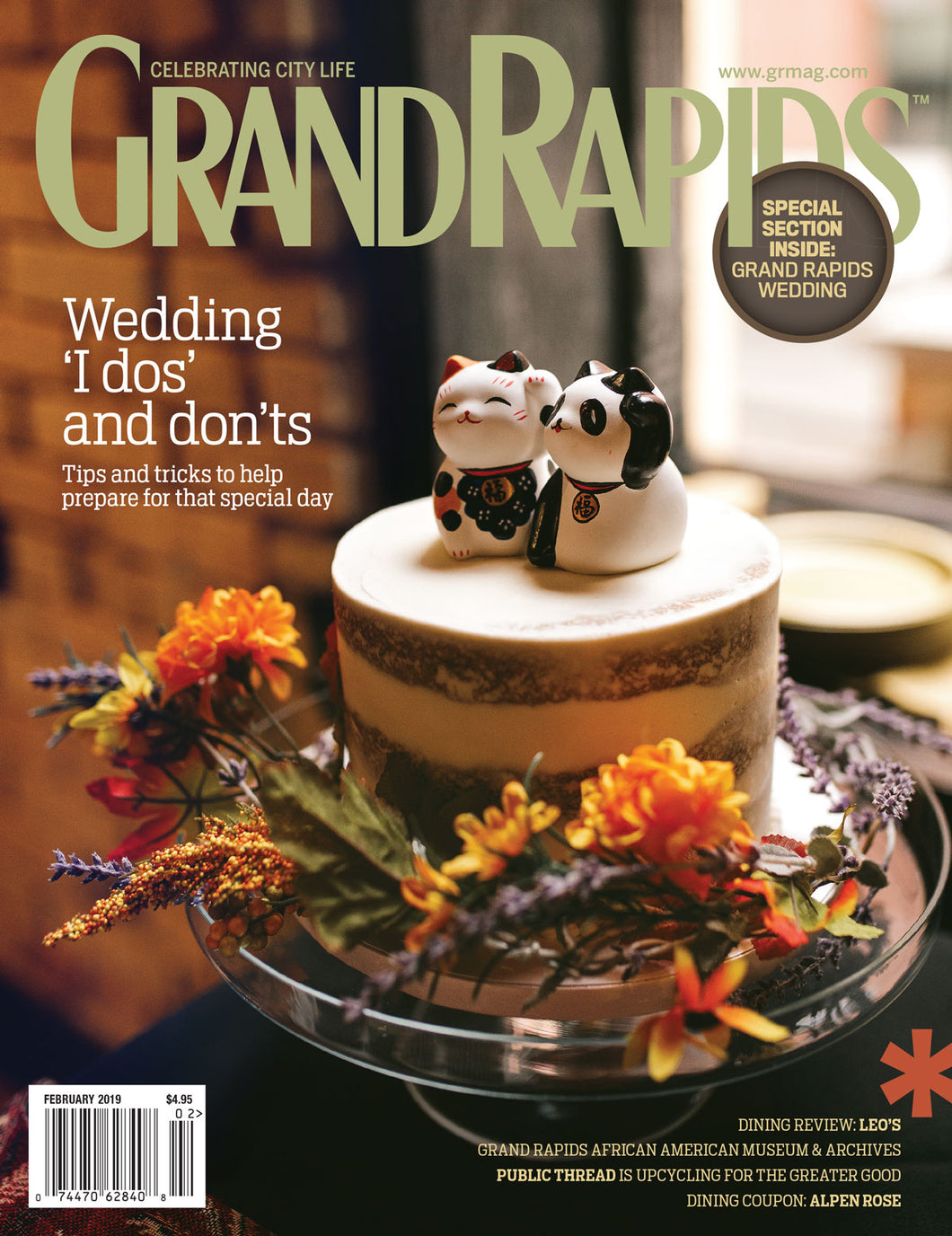 Grand Rapids Magazine, February 2019 issue