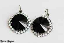 The Kennedy Earrings with Rhinestones