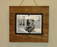Wood Picture Frame, 5X7 Picture frame, Rustic Picture Frame, 5X7 Wood Frame, Rustic Wall Decor, Rustic Wood Frame