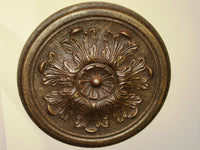 Antiqued Ceiling or Wall Medallion, 13