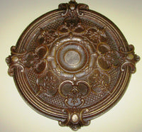 Antiqued Ceiling or Wall Medallion, 18