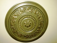 Antiqued Wall or Ceiling Medallion, 17