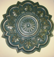 Antiqued Ceiling or Wall Medallion, 20