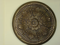 Antiqued Ceiling or Wall Medallion, 21