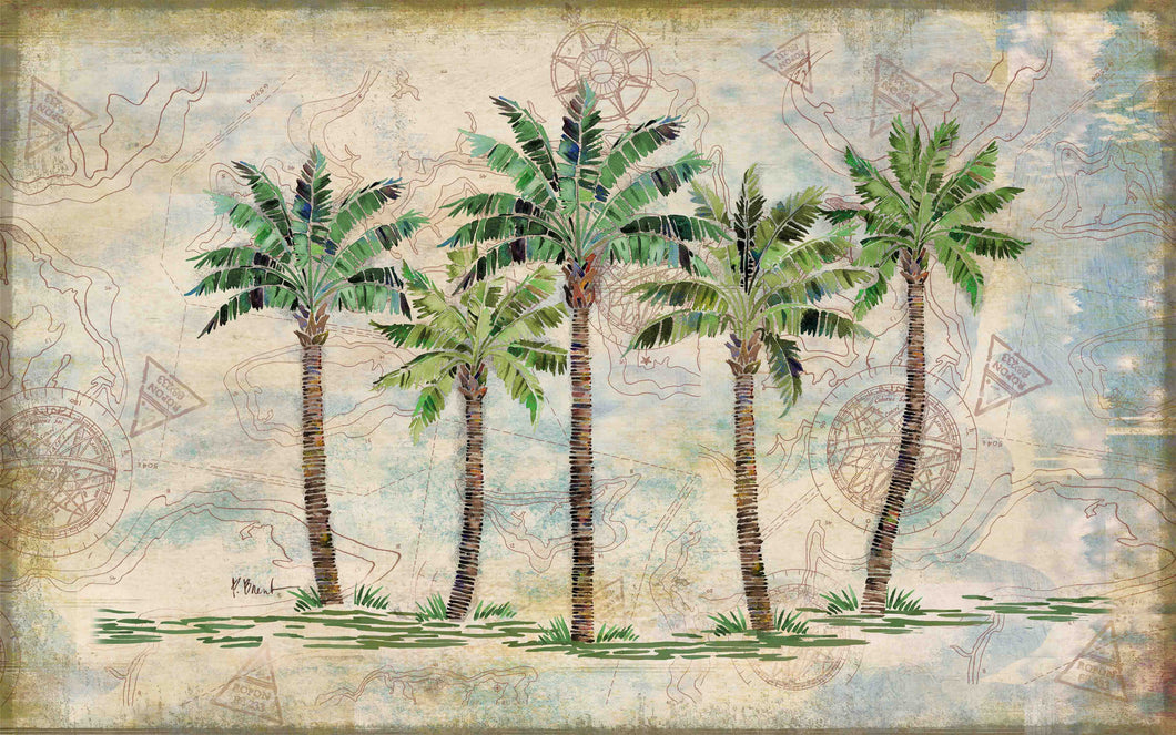 Delray Palm Indoor/Outdoor Mat