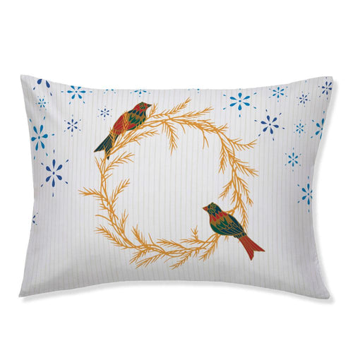 Merry Christmas Doves Pillowcase