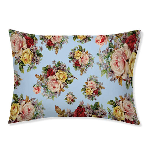 Love And Flowers Pillowcase