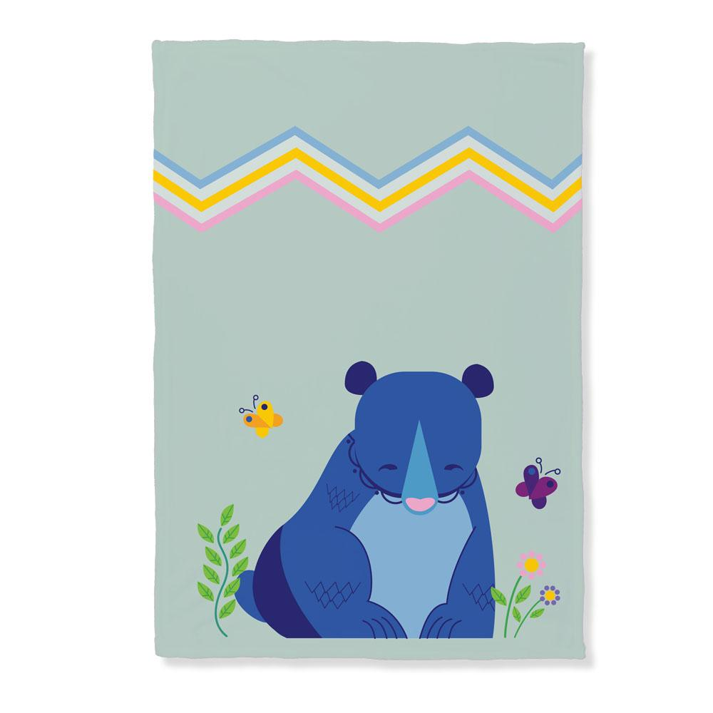 Friendly Bear Throw