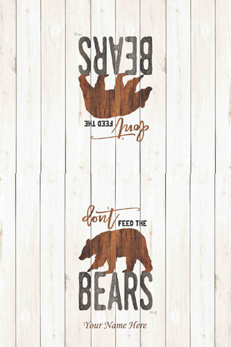 Brown Bear Kitchen Towel