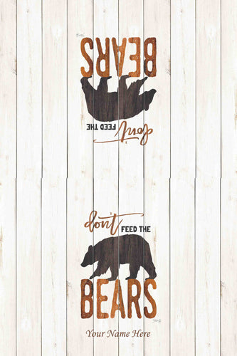 Black Bear Kitchen Towel