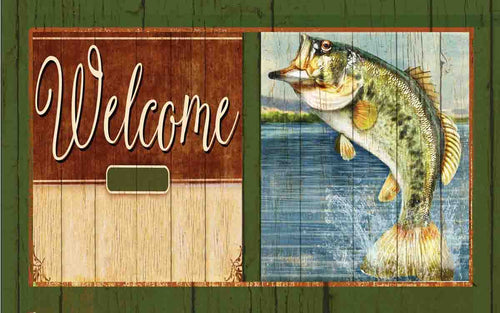Lake Fish Indoor/Outdoor Mat