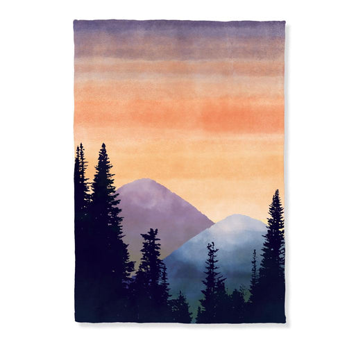 Mountain Range Throw
