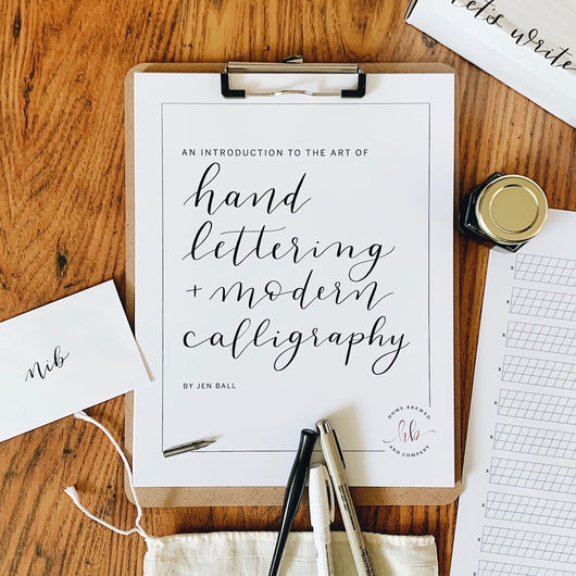 Intro to Hand Lettering and Modern Calligraphy Kit