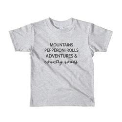 Country Roads Kids' Tee