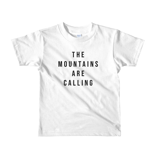 The Mountains are Calling Kids' Tee