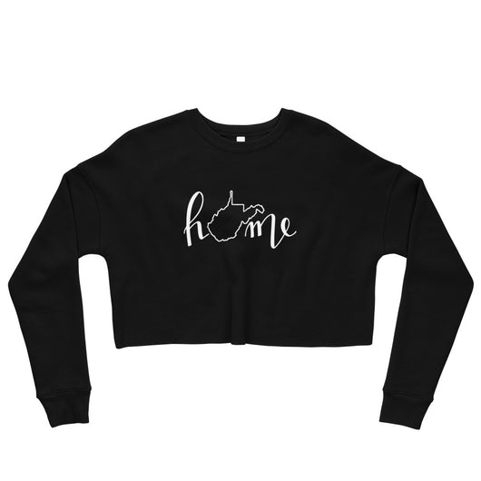 WV Home Cropped Crewneck