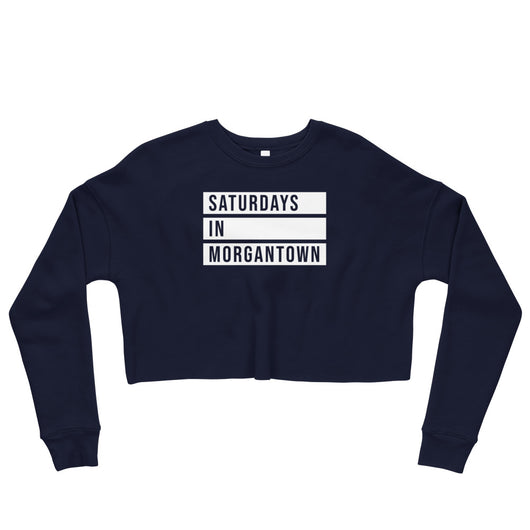 Game Day Cropped Crewneck