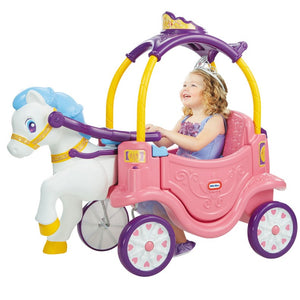 Little Tikes Princess Horse and Carriage Coupe