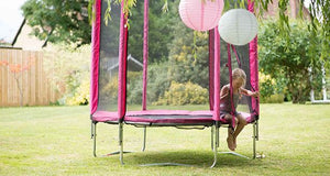 Plum 6ft Pink Trampoline - Backyard Fun and Play!