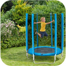 Plum 4.5ft Junior Trampoline Blue - Backyard Fun and Play!