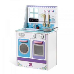 Plum Chive Cook-A-Lot Wooden Role Play Kitchen - Backyard Fun and Play!