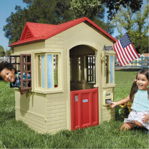 Little Tikes Cape Cottage Playhouse Tan