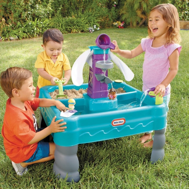 Little Tikes Sandy Lagoon Water Park Sand And Water Table