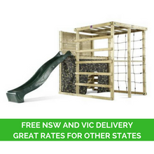 Plum Climbing Cube with Free Vic and NSW Delivery - Backyard Fun and Play!