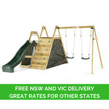 Plum Climbing Pyramid Play Centre with Free NSW VIC Delivery - Backyard Fun and Play!
