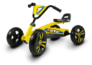 BERG Buzzy Yellow Pedal Go Kart