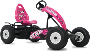 BERG Compact Pink BFR Pedal Go Kart
