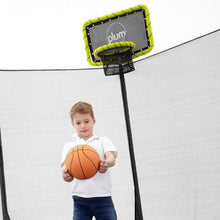 Plum Trampoline Basketball Kit - Backyard Fun and Play!