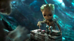 Baby Groot Guardians of Galaxy 2 review by T-Baggin
