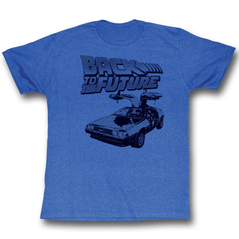 Back To The Future Delorean T-Shirt - T-Baggin