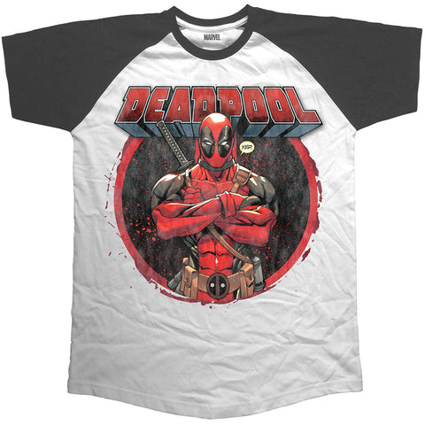 Deadpool - Raglan T-shirt - T-Baggin