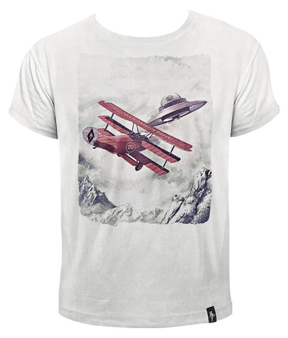 Dirty Velvet Dogfight T-shirt available at T-Baggin.co.uk