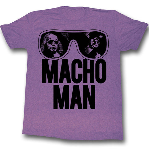 Macho Man Randy Savage T-shirt from T-Baggin.co.uk. For this and other wrestling T-shirts, visit T-baggin.co.uk