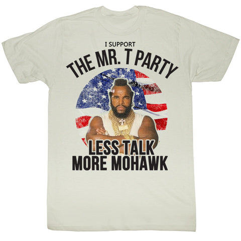 Mr T Party - Less Talk, More Mohawk - T-Baggin