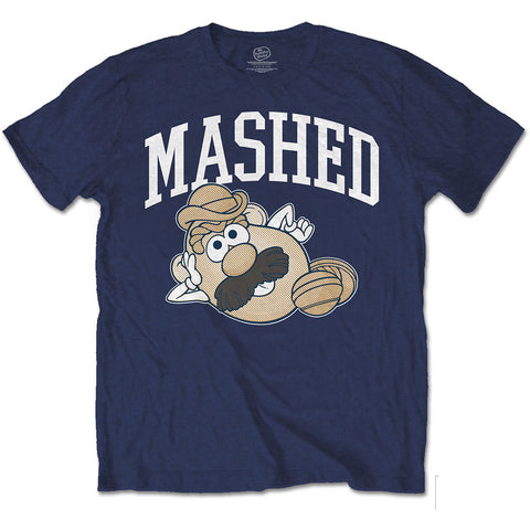 Mr Potato Head Mashed T-shirt from T-Baggin.co.uk. For this and other retro T-shirts visit T-baggin.co.uk.