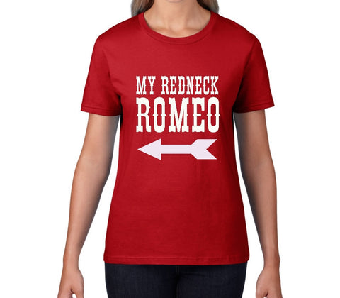 Redneck Romeo Ladies Country Music T-Shirt - T-Baggin