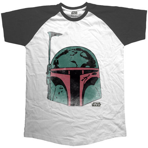 Star Wars Boba Fett Men's T-shirt from T-Baggin.co.uk. For this and other Star Wars T-shirts visit T-Baggin.co.uk