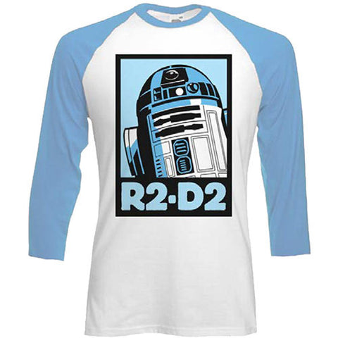 Star Wars R2D2 Men's T-shirt from T-Baggin.co.uk. For this and other Star Wars T-shirts visit T-Baggin.co.uk